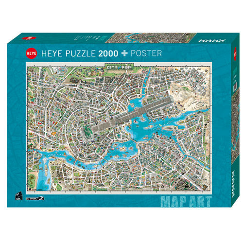 Heye: City of Pop (2000 pcs)
