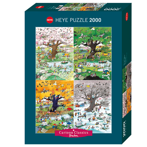 Heye: Blachon, 4 Seasons (2000 pcs)