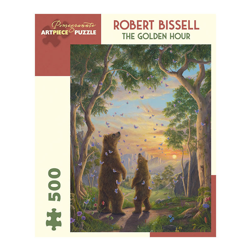 Pomegranate Puzzles - Robert Bissell: The Golden Hour (500 pcs)