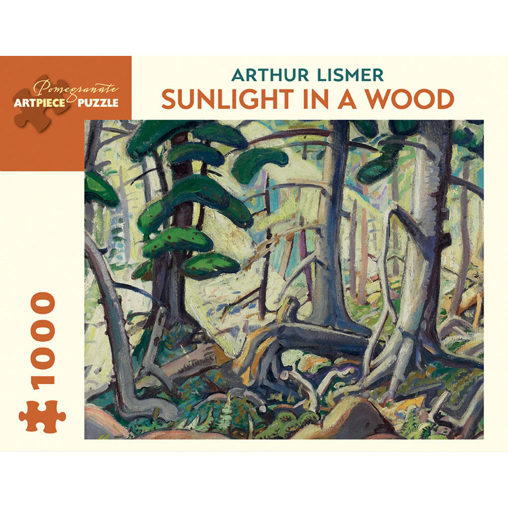Pomegranate Puzzles - Arthur Lismer: Sunlight in a Wood (1000 pcs)