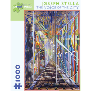 Pomegranate Puzzles - Joseph Stella: The Voice of the City (1000 pcs)
