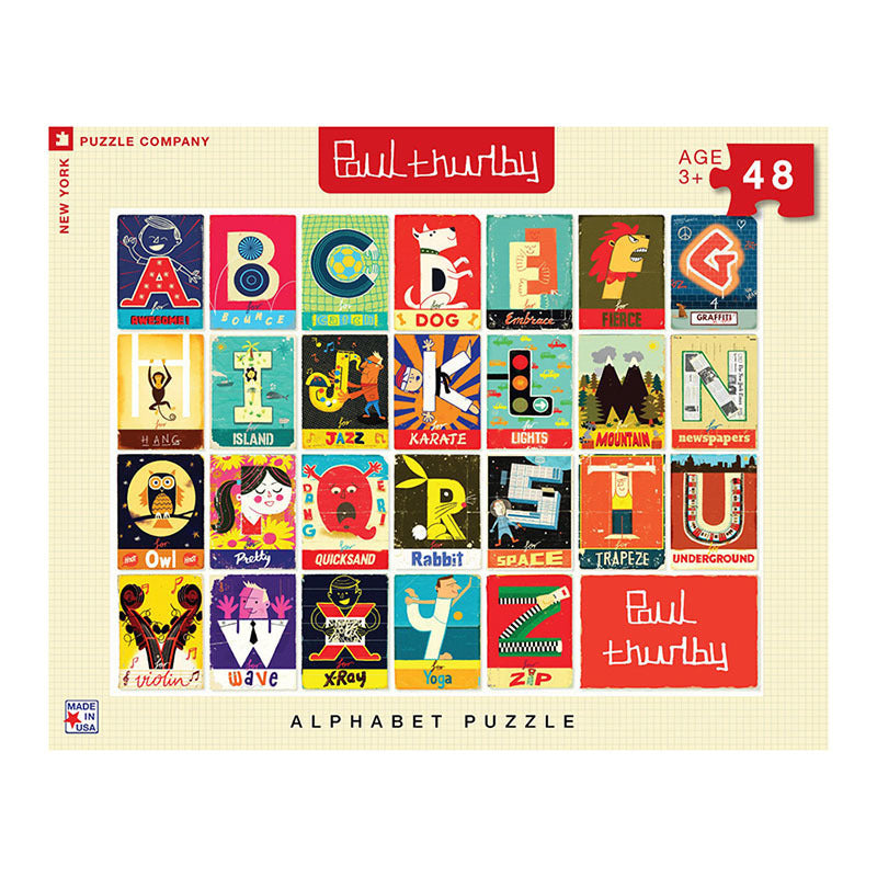 NYPC: Paul Thurlby - Alphabet (48 pcs)