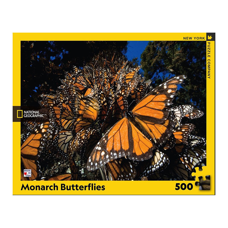 NYPC: National Geographic - Monarch Butterflies (500 pcs)