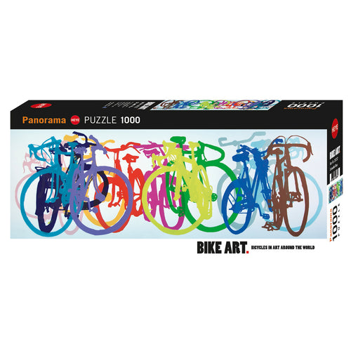 Heye: Bike Art, Lempert, Colourful Row (1000 pcs)