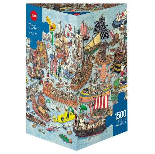 Heye: Adolfsson, Regatta (1500 pcs)