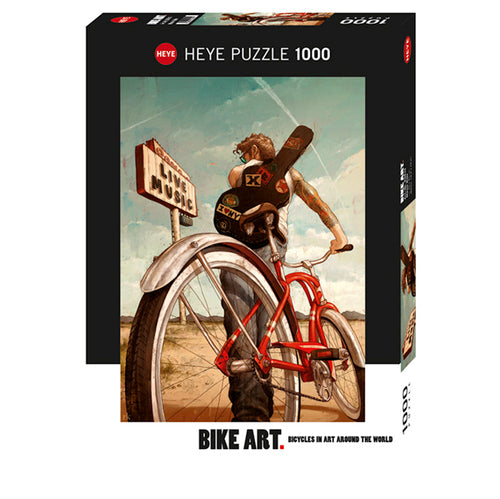 Heye: Bike Art, Kurtz, Music Ride (1000 pcs)