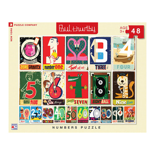 NYPC: Paul Thurlby - Numbers (48 pcs)