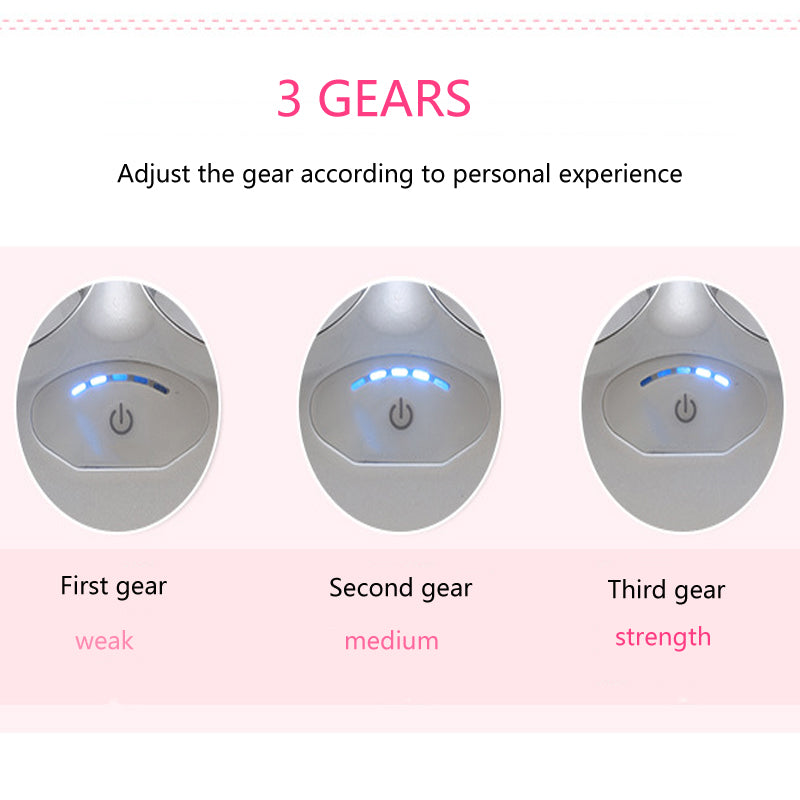 Face Lifting Skin Tightening Machine Toning Set Microcurrent Facial Beauty Antiaging Remove Wrinkle Massager Face Care Tool