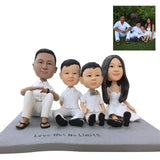 Custom Fully Customizable 4 person Bobbleheads