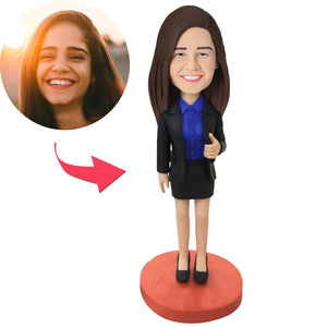 Custom Female Executive Bobbleheads
