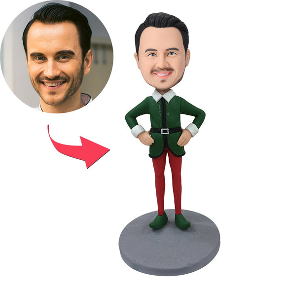 Custom Elf Male Bobbleheads