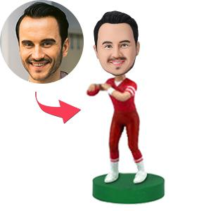 Custom Football Player Bobbleheads