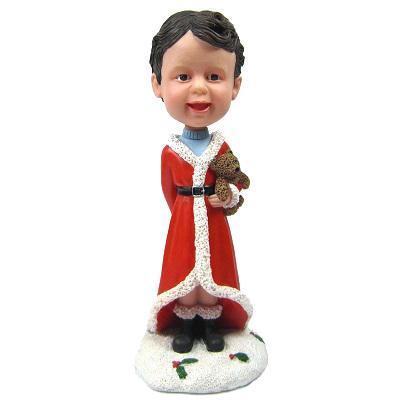Custom Christmas Gift Boy Bobbleheads
