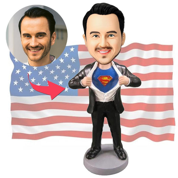 Custom Superman Strip Popular Bobbleheads