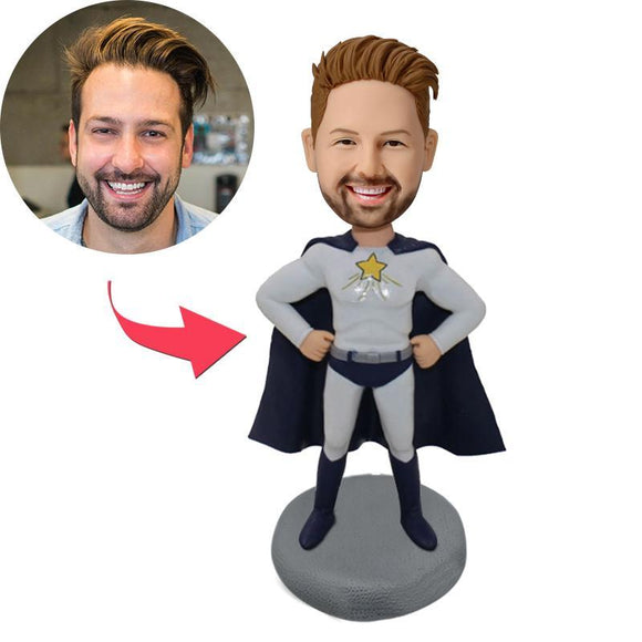 Custom Superhero Action Bobbleheads