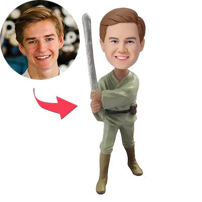 Custom Star War Theme of Boy Bobbleheads