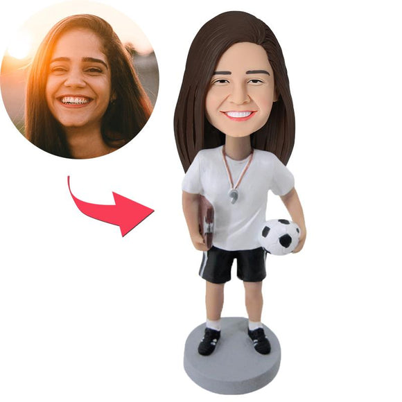 Custom Female Coach Bobbleheads