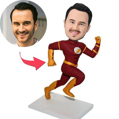 Custom The Flash Is Running Bobbleheads