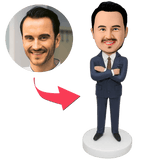 Custom Businessman Bobbleheads