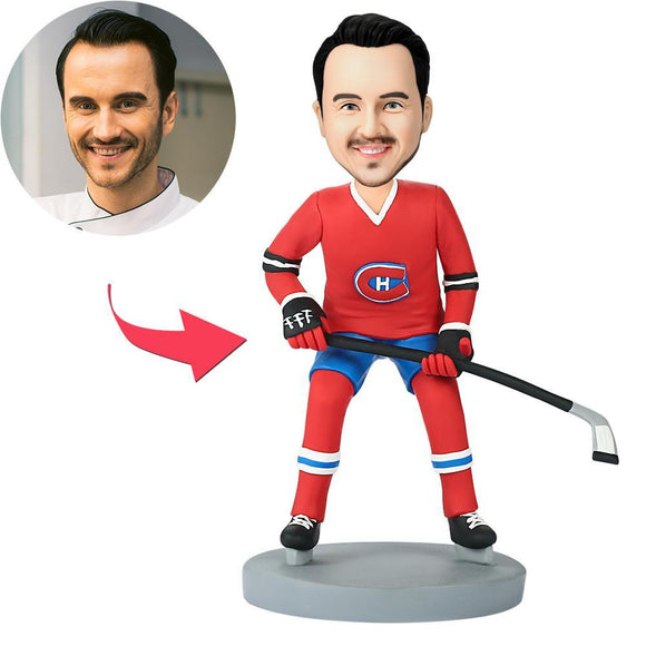 Custom Montreal Canadiens Hockey Player Bobbleheads