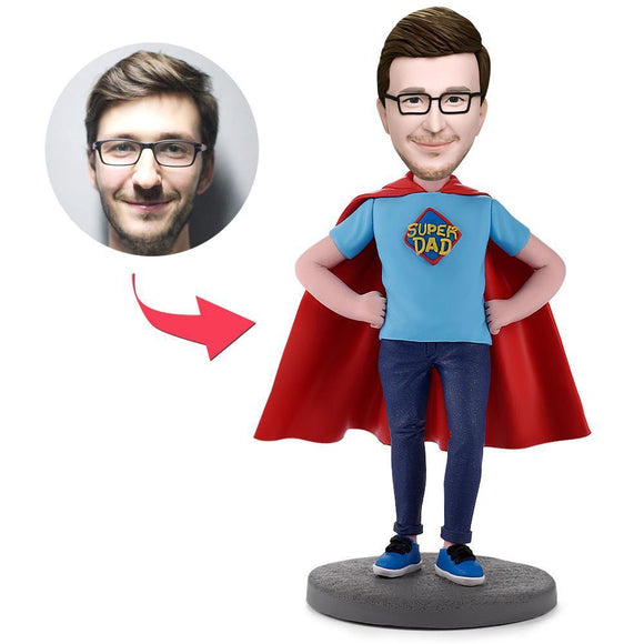 Custom Super Dad Bobbleheads