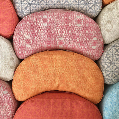 HUM Crescent Meditation Cushion
