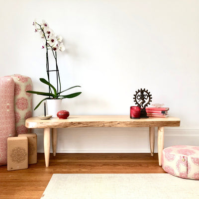 Natural Wood Altar Table
