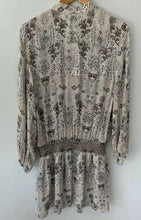 Load image into Gallery viewer, PARKER NY amazing Silvia Print Embroidered Silk Dress Size M BNWT $500
