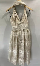 Load image into Gallery viewer, NICOLANGELA Divine A Line Laser Cut Dress Size 10-14 BNWT $690