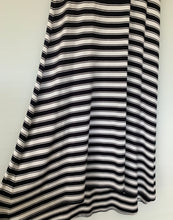 Load image into Gallery viewer, MELA PURDIE Beautiful striped Amazing Cut Maxi Midi  Dress Size M