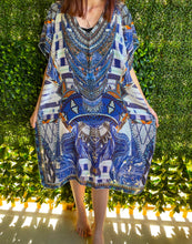 Load image into Gallery viewer, ISABELLA THE LABEL divine midi Kaftan beach dress 8-18