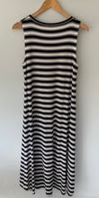 Load image into Gallery viewer, (Preloved) MELA PURDIE Beautiful striped Amazing Cut Maxi Midi  Dress Size M