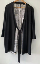 Load image into Gallery viewer, VISAGE NZ Divine Silk & Knit Cardigan Cardi Size L 14 16 AS NEW $380