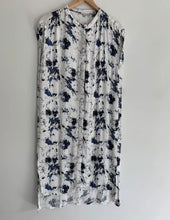 Load image into Gallery viewer, JUST FEMALE gorgeous marble print button front shirt dress XS 8-10 BNWT