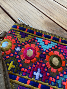 "Boho tribal ""The Camilla"" purse clutch iPad bag"