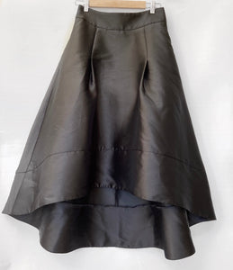 FOREVER NEW Black A Line Lena Ball Prom Pocket Asymmetrical Skirt Size 10 BNWT