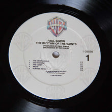 Load image into Gallery viewer, (simon, paul) | Paul Simon [The Rhythm Of The Saints] US Promo Original
