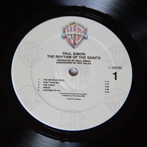 (simon, paul) | Paul Simon [The Rhythm Of The Saints] US Promo Original