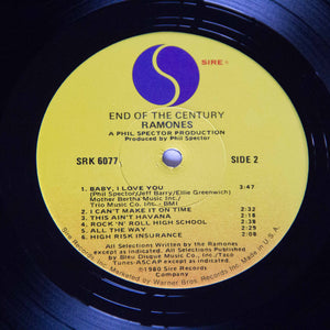 (ramones) | The Ramones [End Of The Century] US Promo