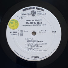 Load image into Gallery viewer, (grateful dead) | Grateful Dead [American Beauty] White Label Promo