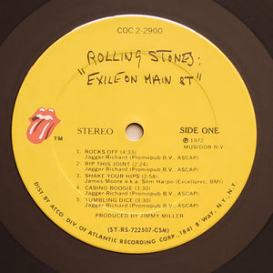 (rolling stones) | The Rolling Stones [Exile On Main Street] US Original