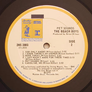 (beach boys) | The Beach Boys [Pet Sounds] Brothers/Reprise Press