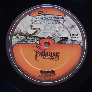 (yes) | Yes [Relayer] 1974 UK Press