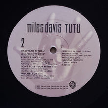 Load image into Gallery viewer, (davis, miles) | Miles Davis [Tutu] US Promo Original