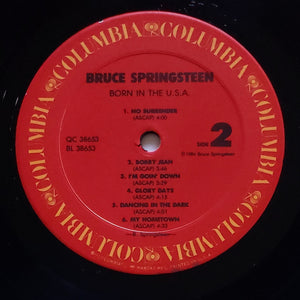(springsteen, bruce) | Bruce Springsteen [Born In The USA] US Promo Original|