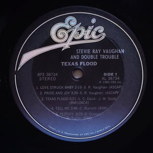 (vaughan, stevie) | Stevie Ray Vaughan [Texas Flood] US Promo Original