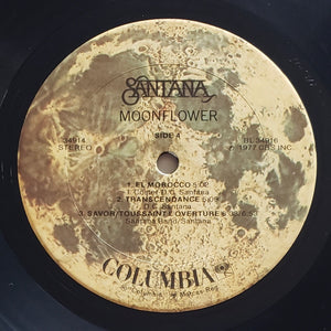 (santana) | Santana [Moonflower] US Promo Original