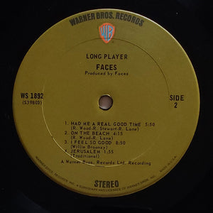 (faces) | Faces [Long Player] US Original