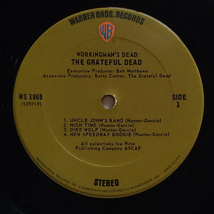 (Grateful Dead) | Grateful Dead [Workingman's Dead] US Original