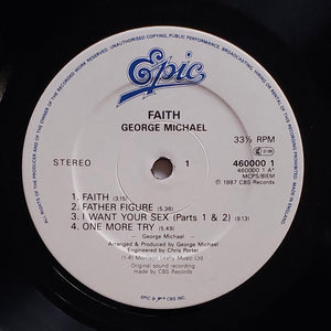 (michael, george) | George Michael [Faith] UK Original